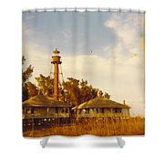 Lighthouse Landscape Shower Curtain