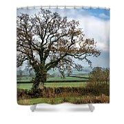Lower Bruckland - Devon Shower Curtain