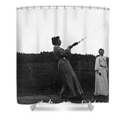 Mabel Hubbard Bell (1857-1923) Shower Curtain
