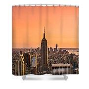 Manhattan - New York City - Usa Shower Curtain