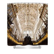 Mezquita Cathedral Interior In Cordoba Shower Curtain