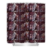 Micro  Photgraphy Crystals Precious Stones Rare Earth Materials Background Designs  And Color Tones  Shower Curtain