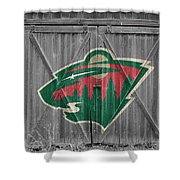 Minnesota Wild Shower Curtain