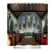 Minster Abbey Shower Curtain