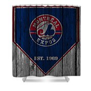 Montreal Expos Shower Curtain