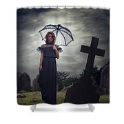 Mourning Shower Curtain by Joana Kruse
