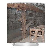 Mud Brick Village Shower Curtain