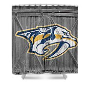Nashville Predators Shower Curtain