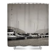 Newburgh Water Front Shower Curtain