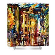 Night City  Shower Curtain