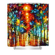 Night Park Shower Curtain