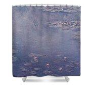 Nympheas Shower Curtain by Claude Monet