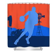 Oklahoma City Thunder Shower Curtain