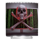 Online Security Shower Curtain
