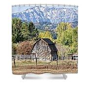 Palisades Barn Shower Curtain