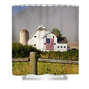Park City Barn Shower Curtain