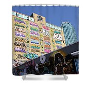5 Pointz Graffiti Art 2 Shower Curtain
