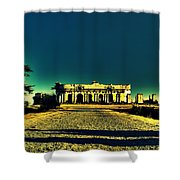 Radha Bhavan Shower Curtain