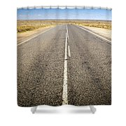 Road Ahead Shower Curtain