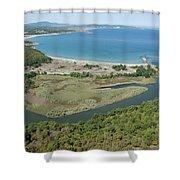 Ropotamo River Shower Curtain