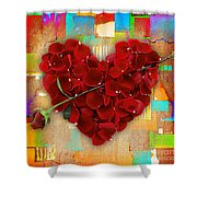 Roses Collection Shower Curtain