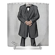 Rudolf Virchow (1821-1902) Shower Curtain