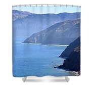 Santa Cruz Island Shower Curtain