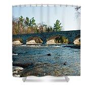 5-span Bridge Shower Curtain