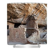 Spruce Tree House Mesa Verde National Park Shower Curtain
