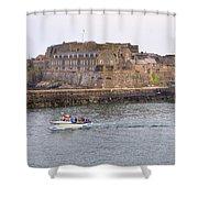 St Peter Port - Guernsey Shower Curtain