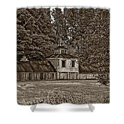 5 Star Barn Monochrome Shower Curtain