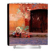 Streets Of Oaxaca Shower Curtain