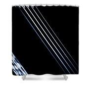 5 Strings Of Light Shower Curtain