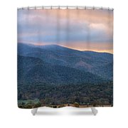 Sunrise In Cades Cove Shower Curtain