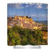 Sunrise Over Roussillon Shower Curtain