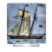 Tall Ships Shower Curtain