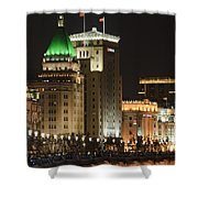 The Bund, Shanghai Shower Curtain