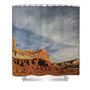 The Castle, Capitol Reef National Park Shower Curtain