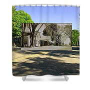 The Commons In Little Compton Rhode Island Shower Curtain