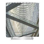Tokyo International Forum Shower Curtain