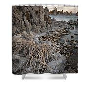 Tufa Formations, Mono Lake, Ca Shower Curtain