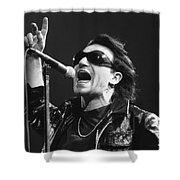 U2 - Bono Shower Curtain