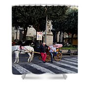 Views From Sorrento Italy Shower Curtain