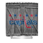Washington Capitals Shower Curtain