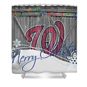 Washington Nationals Shower Curtain