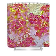 Together Again Watercolor Photography Shower Curtain