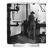 Wilbur Wright (1867-1912) Shower Curtain