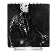 William I (1533-1584) Shower Curtain