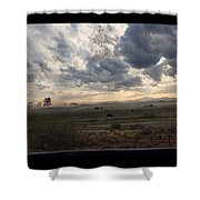 Ghost Riders In The Sky - 500050  Shower Curtain