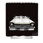 50s Ford Fairlane Convertible Shower Curtain